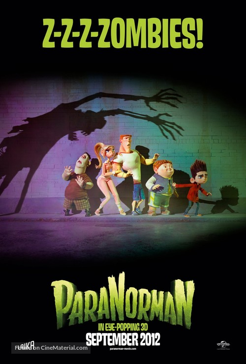 ParaNorman - British Movie Poster