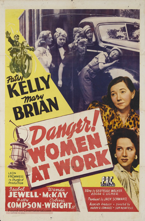 Danger! Women at Work - Movie Poster