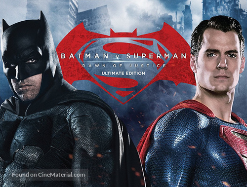 Batman v Superman: Dawn of Justice - Movie Cover