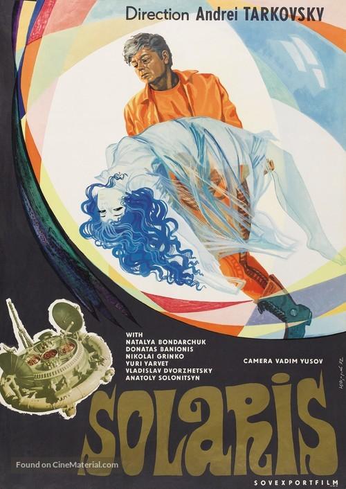 Solyaris - Soviet Movie Poster