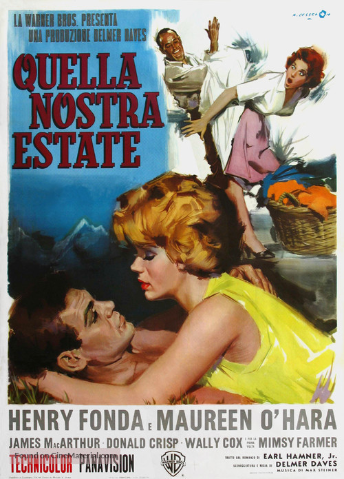 Spencer's Mountain - Italian Movie Poster