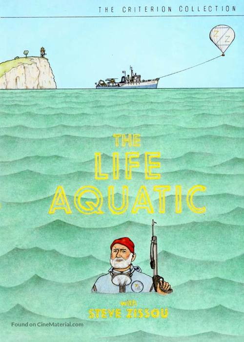 The Life Aquatic with Steve Zissou - DVD movie cover