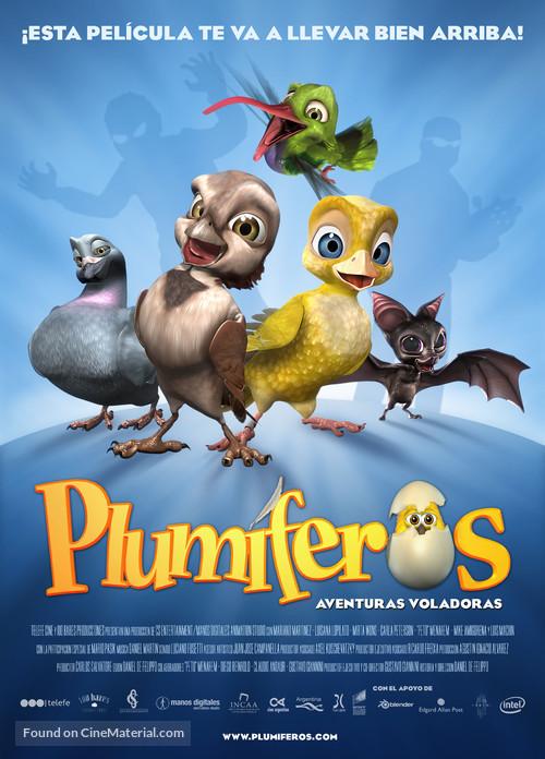 Plumíferos - Aventuras voladoras - Argentinian Movie Poster