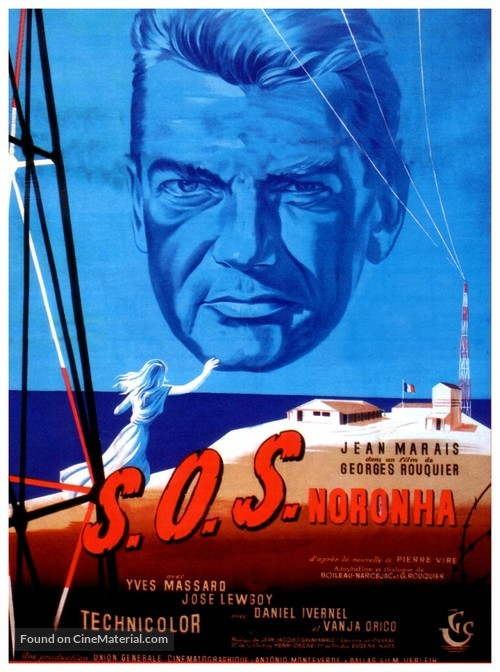 S.O.S. Noronha - French Movie Poster