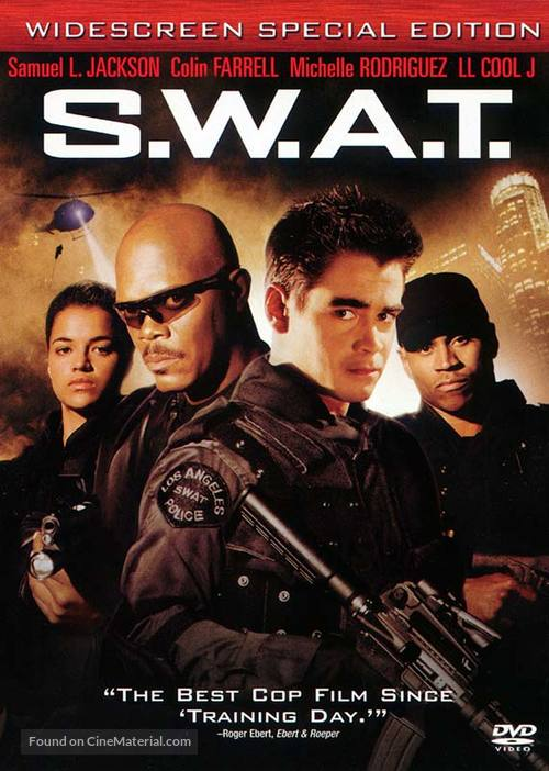 S.W.A.T. - DVD movie cover