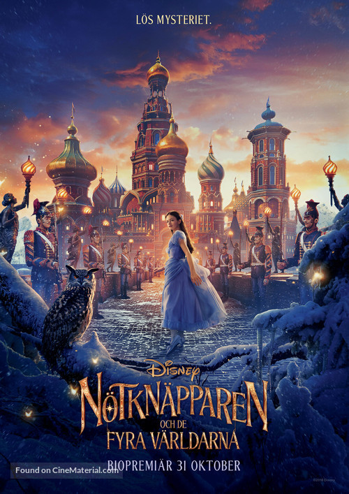 The Nutcracker and the Four Realms - Swedish Movie Poster