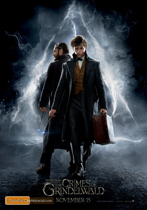 Fantastic Beasts: The Crimes of Grindelwald - Australian Movie Poster