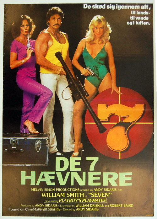Seven - Danish Movie Poster