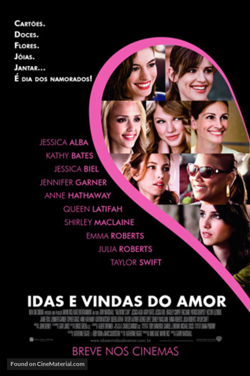 Valentine S Day Brazilian Movie Poster