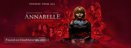 Annabelle Comes Home - Norwegian Movie Poster