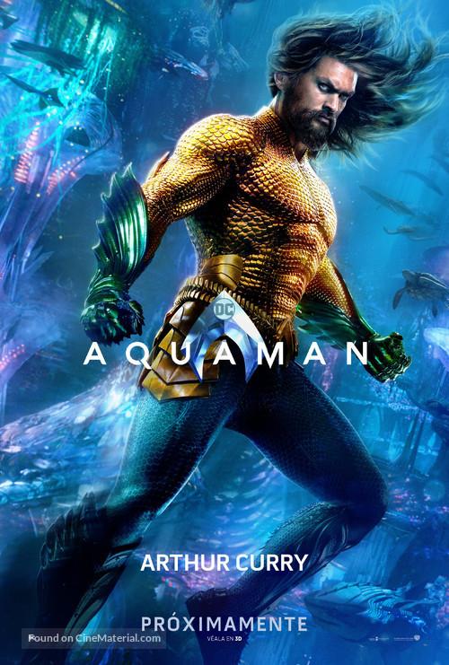 Aquaman - Argentinian Movie Poster