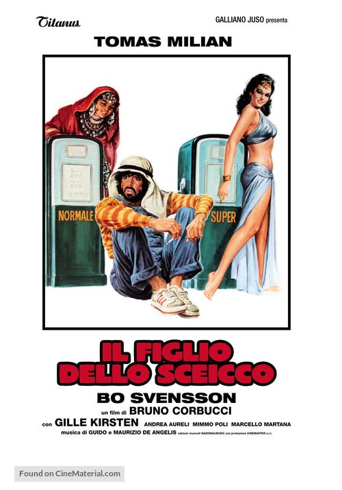 Il figlio dello sceicco - Italian Movie Poster