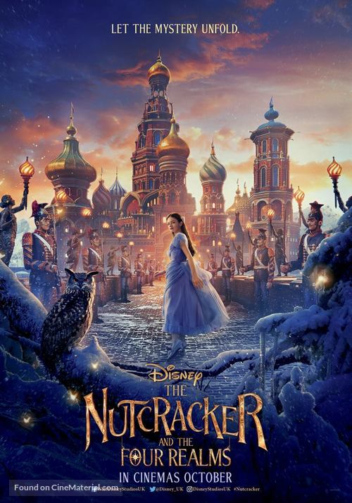 The Nutcracker and the Four Realms - British Movie Poster