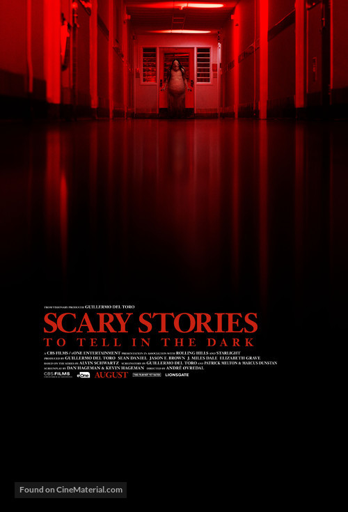 Scary Stories to Tell in the Dark - Theatrical movie poster