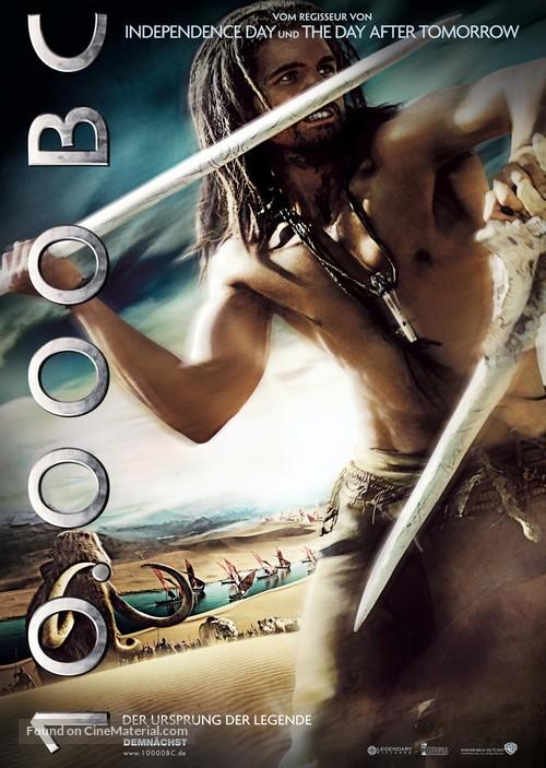10,000 BC - German Movie Poster