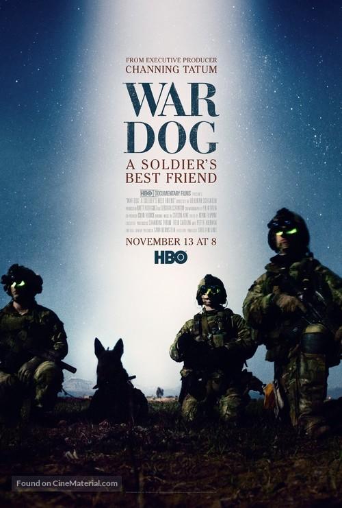 War Dog: A Soldier's Best Friend - Movie Poster