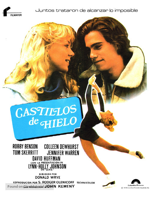 Ice Castles - Spanish Movie Poster