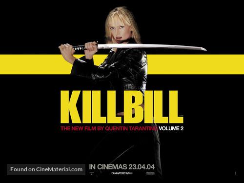 Kill Bill: Vol. 2 - British Movie Poster