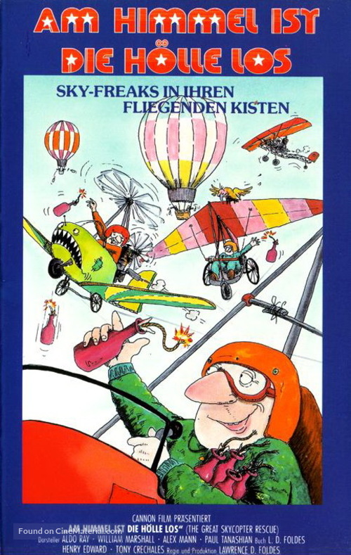 The Great Skycopter Rescue - German Movie Cover