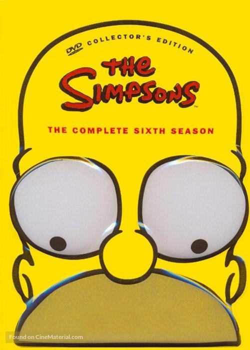 """""""The Simpsons"""" - DVD movie cover"""