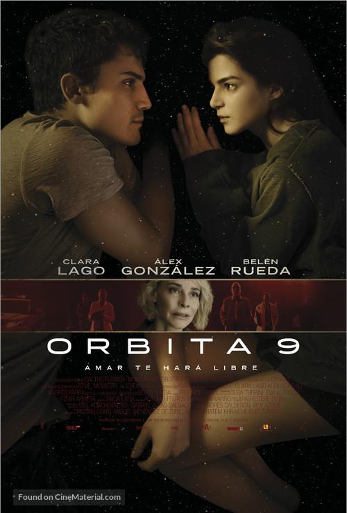 Órbita 9 - Spanish Movie Poster