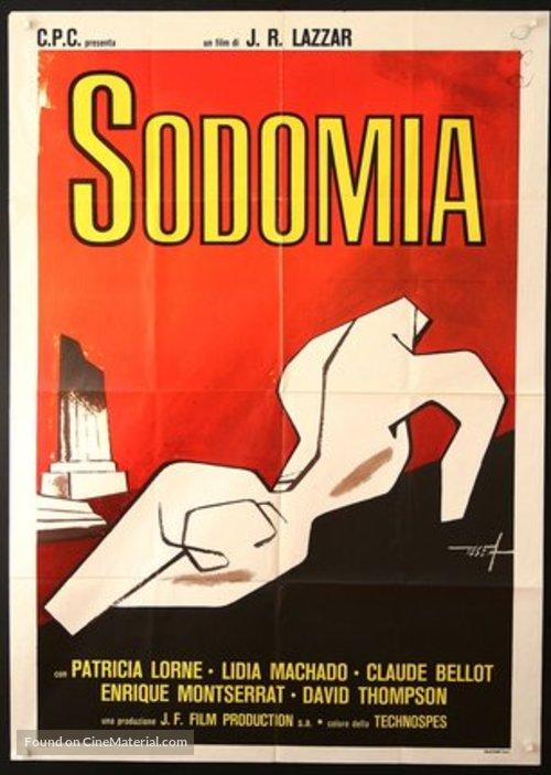 La visita del vicio - Italian Movie Cover