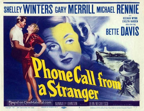 Phone Call from a Stranger - Movie Poster