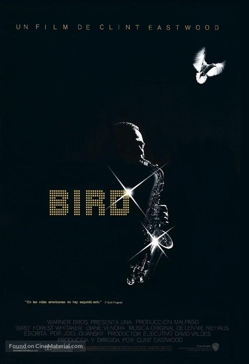 Bird - Spanish Movie Poster