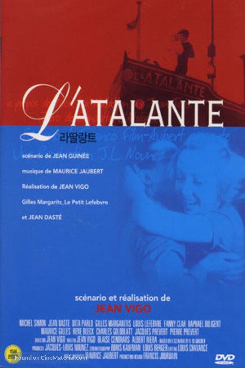 L'Atalante - South Korean DVD movie cover