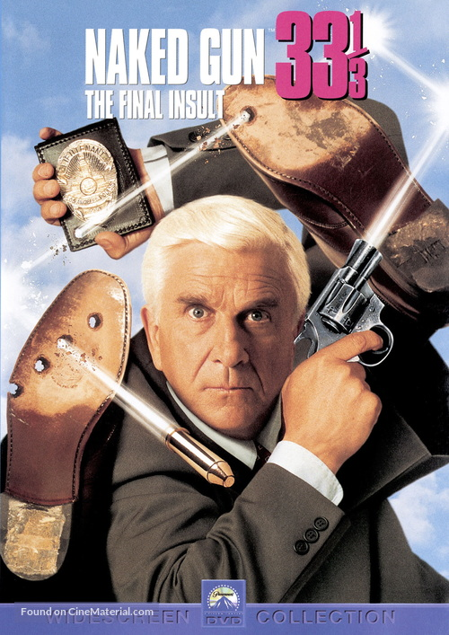 Naked Gun 33 1/3: The Final Insult - DVD cover