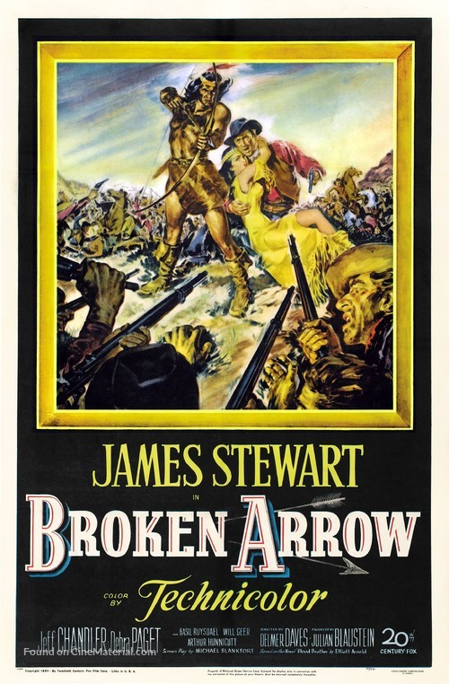 Broken Arrow - Movie Poster