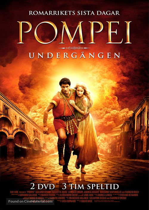 """Pompei"" - Swedish Movie Cover"