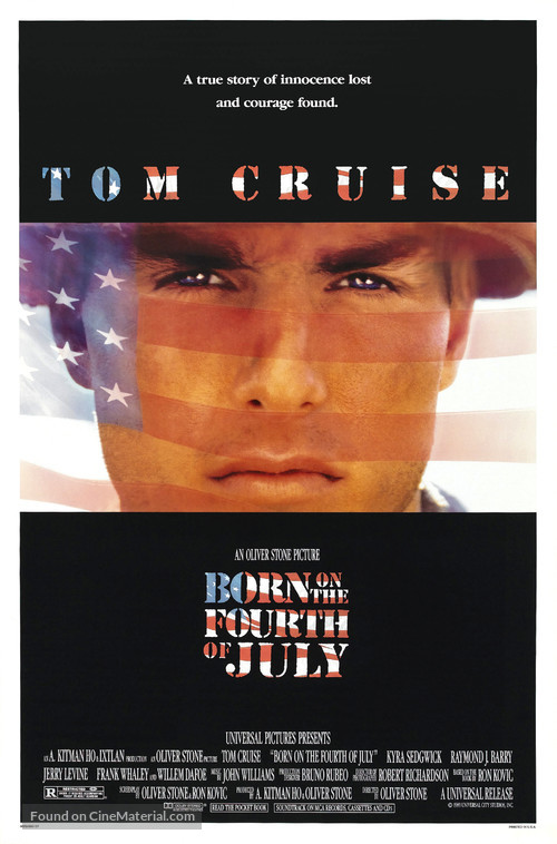 Born on the Fourth of July - Movie Poster