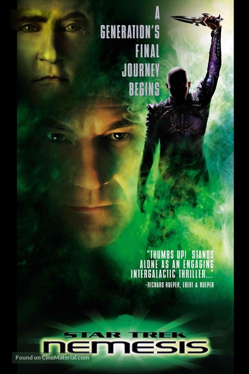 Star Trek: Nemesis - Movie Cover