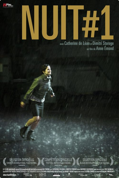 Nuit #1 - Canadian Movie Poster