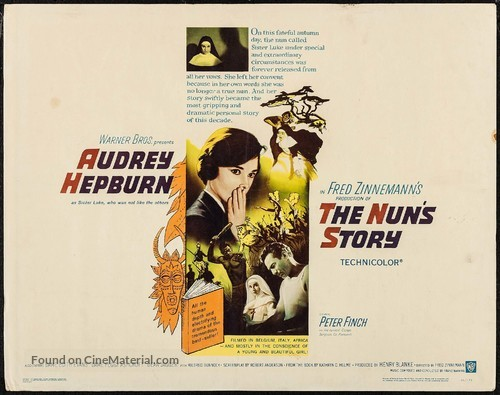 The Nun's Story - Movie Poster
