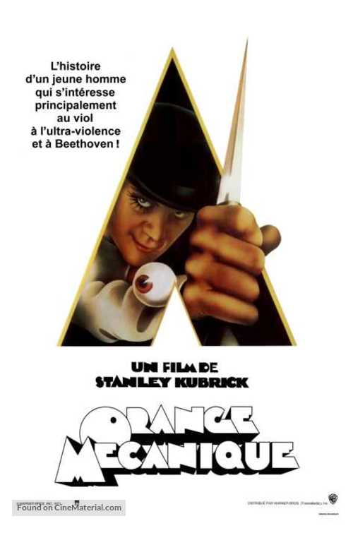 A Clockwork Orange - French Movie Poster