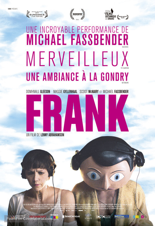 Frank - French Movie Poster