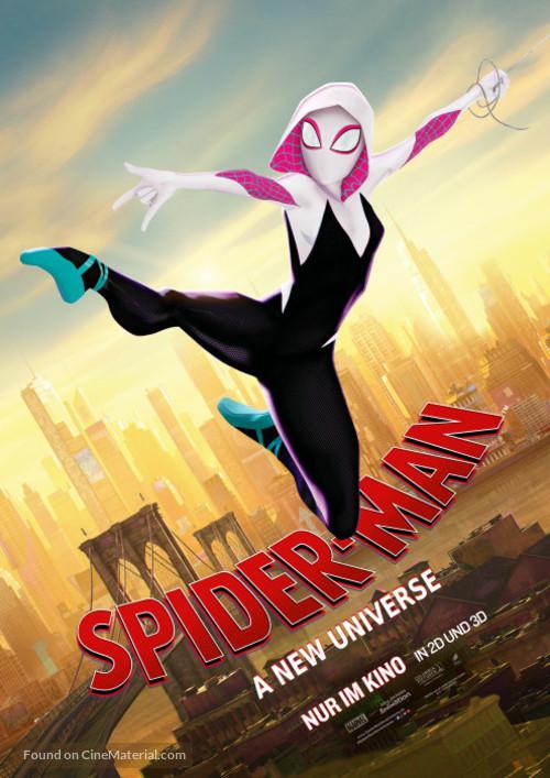 Spider-Man: Into the Spider-Verse - German Movie Poster