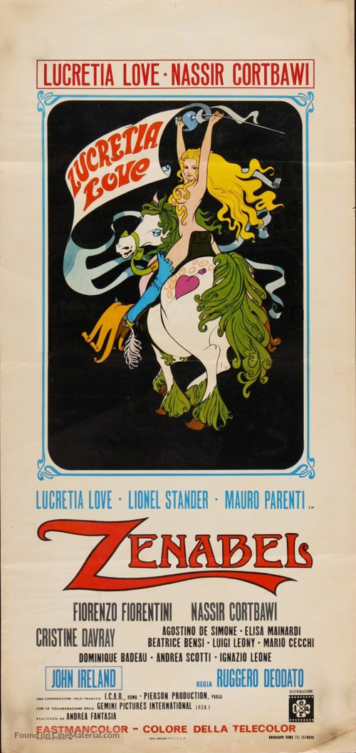Zenabel - Italian Movie Poster