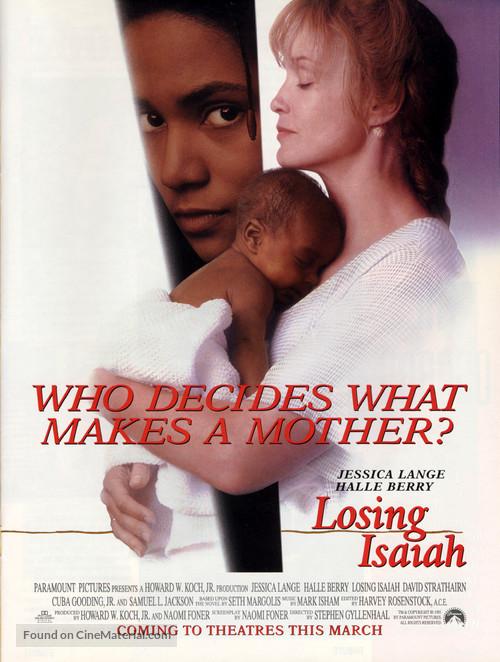 Losing Isaiah - Movie Poster