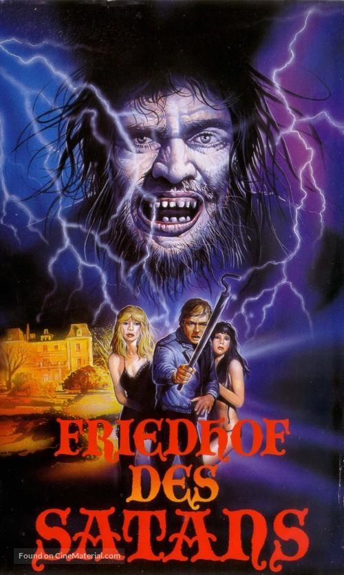 Cementerio del terror - German VHS cover