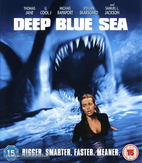 Deep Blue Sea - British Movie Cover