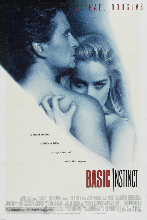 Basic Instinct - Movie Poster