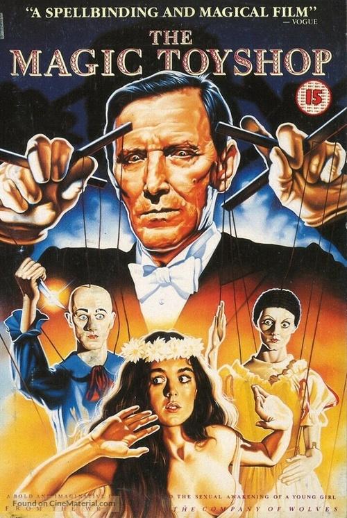 The Magic Toyshop - British VHS movie cover
