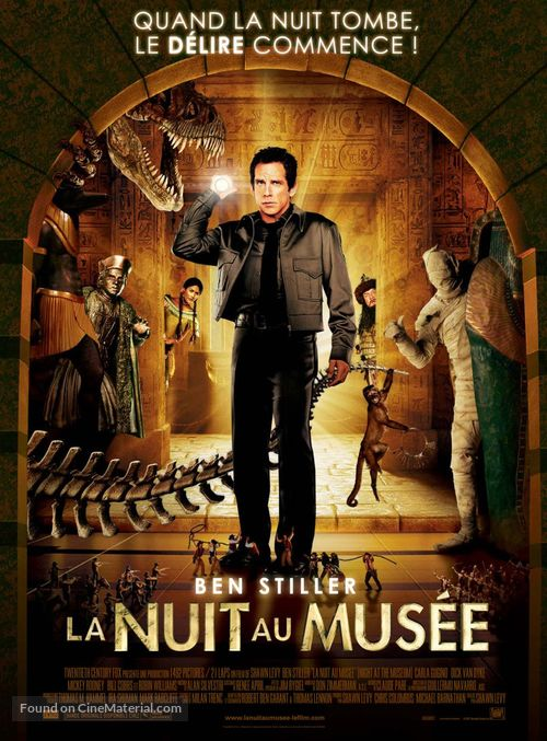 Night at the Museum - French Movie Poster
