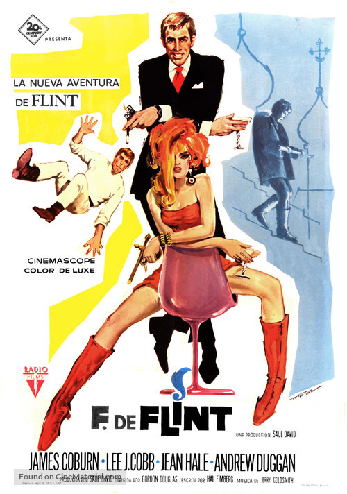 In Like Flint - Spanish Movie Poster