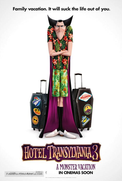 Hotel Transylvania 3: Summer Vacation - British Teaser poster
