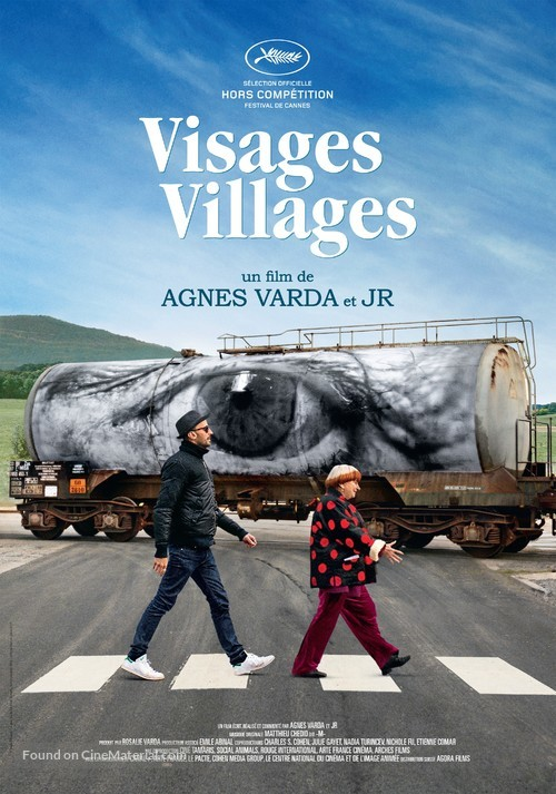 Visages, villages - Swiss Movie Poster