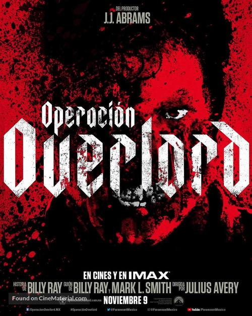 Overlord - Mexican Movie Poster